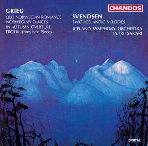 Svendsen: Two Icelandic Melodies and Grieg: Old Norwegian Romance & other works