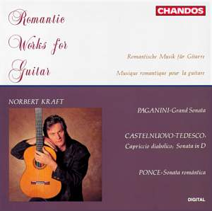 Romantic Works for Guitar Product Image