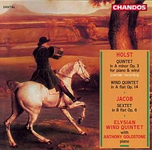 Holst: Quintet in A minor, Op. 3, etc.