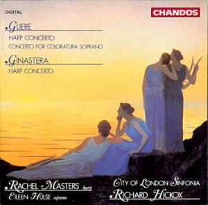 Ginastera & Glière: Harp Concertos