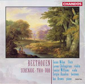 Beethoven: Serenade in D major for Flute, Violin and Viola, Op. 25, etc.