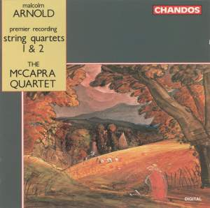 Arnold: String Quartets 1 & 2