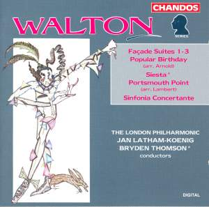 Walton: Façade Suites & other orchestral works