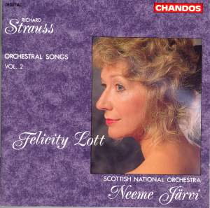Strauss: Orchestral Songs, Vol. 2