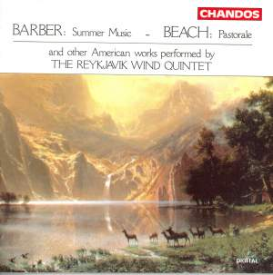 Barber: Summer Music, Beach: Pastorale and other American works