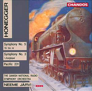 Honegger: Symphony No. 5 'Di tre re', etc.