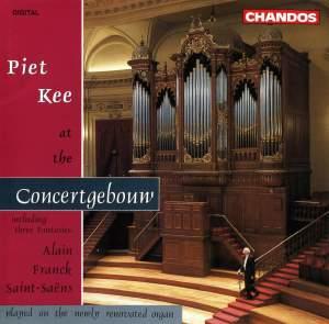 Piet Kee at the Concertgebouw