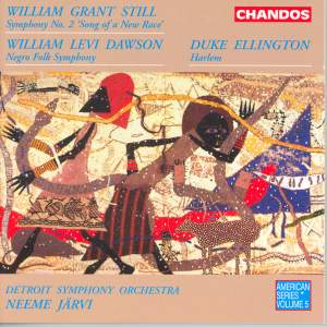 Still, W G: Symphony No. 2 in G minor 'Song of a New Race', etc. Product Image