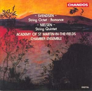 Svendsen: String Octet in A major, Op. 3, etc.