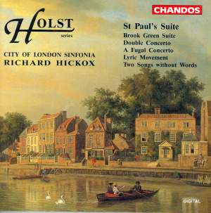 Holst: St. Paul's Suite, Brook Green Suite, Double Concerto & other orchestral works