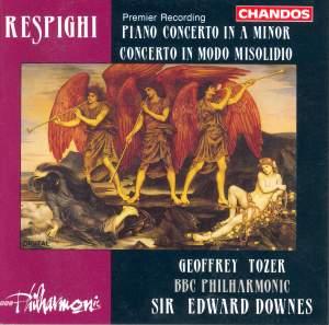 Respighi: Piano Concerto in A minor, etc.