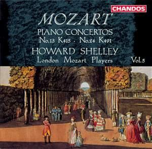 Mozart: Piano Concertos, Vol. 5