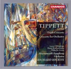 Tippett: Concerto for Violin, Viola, Cello & Orchestra 'Triple Concerto', etc.