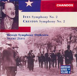Ives & Creston: 2nd Symphonies