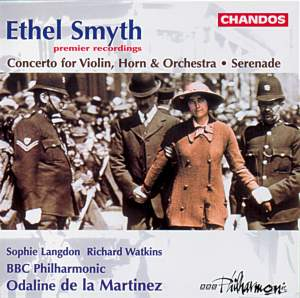 Smyth: Serenade in D & Concerto for violin, horn & orchestra Product Image