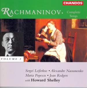 Rachmaninov: Songs, Vol. 3