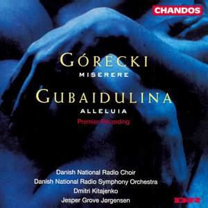 Gubaidulina: Alleluia & Gorecki: Miserere Product Image