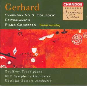 Gerhard: Symphony No. 3 'Collages', etc.