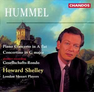 Hummel, J: Concertino in G major Op. 73, etc.