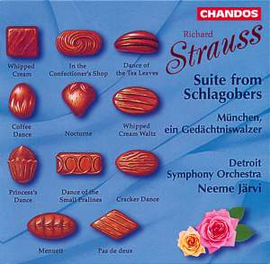 Richard Strauss: Suite from Schlagobers & München Product Image