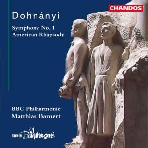 Dohnányi: Symphony No. 1 & American Rhapsody
