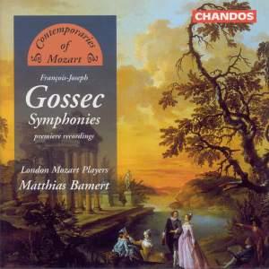 Contemporaries of Mozart - François-Joseph Gossec
