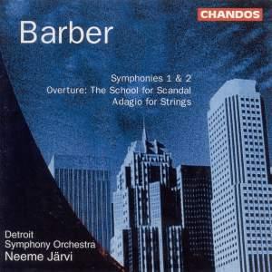 Barber: Symphony No. 1, Op. 9, etc.