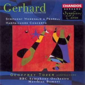 Roberto Gerhard: Homenaje a Pedrell & Harpsichord Concerto