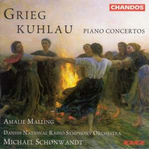 Kuhlau & Grieg: Piano Concertos Product Image