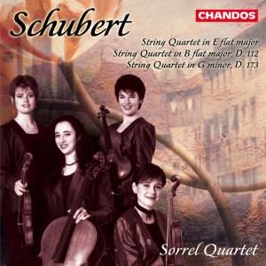 Schubert: String Quartet No. 10 in E flat major, D87, etc.