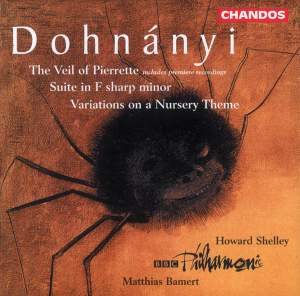 Dohnányi: The Veil of Pierrette and other works