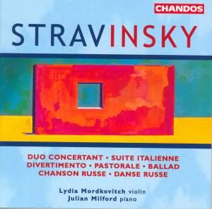Stravinsky - Works for Violin & Piano