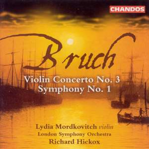 Bruch: Symphony No. 1 in E Flat, Op. 28, etc. Product Image