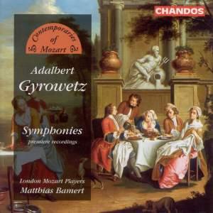 Contemporaries of Mozart - Adalbert Gyrowetz