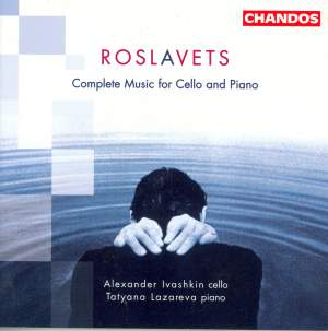 Roslavets - Complete Music for Cello and Piano Product Image