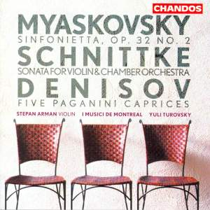 Miaskovsky: Sinfonietta No. 2 in B minor, Op. 32 No. 2, etc.