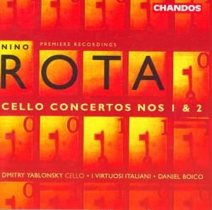 Nino Rota: Cello Concertos