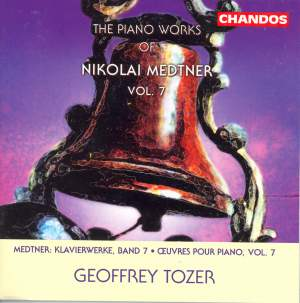 The Piano Works of Nikolai Medtner Volume 7