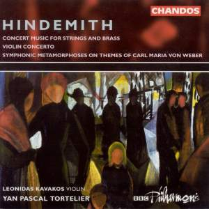 Hindemith: Konzertmusik, Op. 50 for strings & brass, etc.