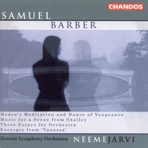 Neeme Järvi conducts Barber