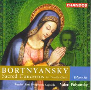 Bortnyansky - Sacred Concertos Volume 6