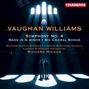 Vaughan Williams: Symphony No. 4 in F minor, etc.