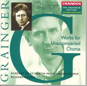 The Grainger Edition Volume 18