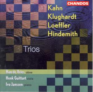 Trios for Oboe, Viola & Piano Product Image