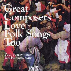 Great Composers Love Folk Songs Too