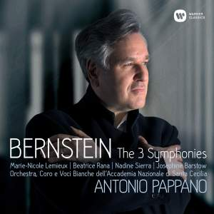 Bernstein: The 3 Symphonies - Casebound Deluxe Product Image