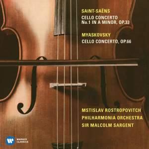 Saint-Saëns & Myakovsky: Cello Concertos