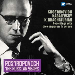 Shostakovich, Kabalevsky & Khachaturian, Karen: Cello Sonatas (The Russian Years)