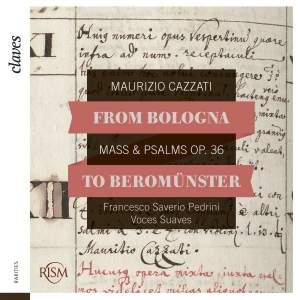 Maurizio Cazzati: Mass & Psalms Op. 36 Product Image
