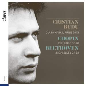 Cristian Budu plays Chopin & Beethoven Product Image